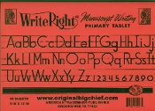 Big Chief Write Right Primary Tablet